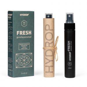 Hydrop Fresh Spray Défroissant Bio Désodorisant Désinfectant Tissu Nano Tech