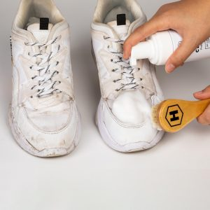 Utilisation Hydrop Clean Mousse Naturelle Nettoyage Basket Chaussure Sneaker