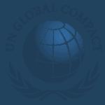 logo UNglobalcompact engagement écologique hydrop