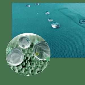 effet hydrophobe produit textile spray imperméabilisant écologique eco nano tech