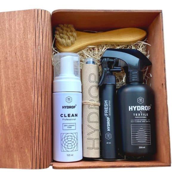 Coffret bois cadeau Hydrop