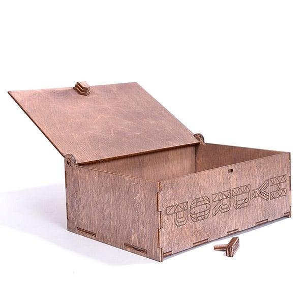 hydrop grand coffret bois cadeau écologique