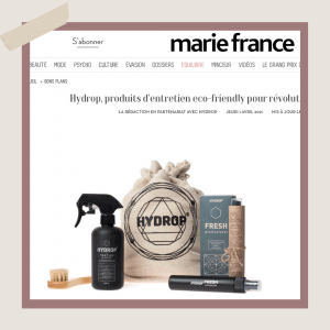 magazine marie france article blog hydrop