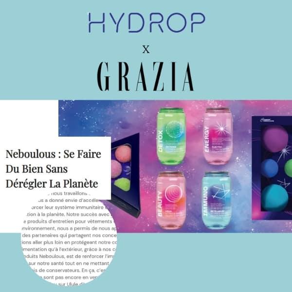 Parution hydrop dans le magazine Grazia