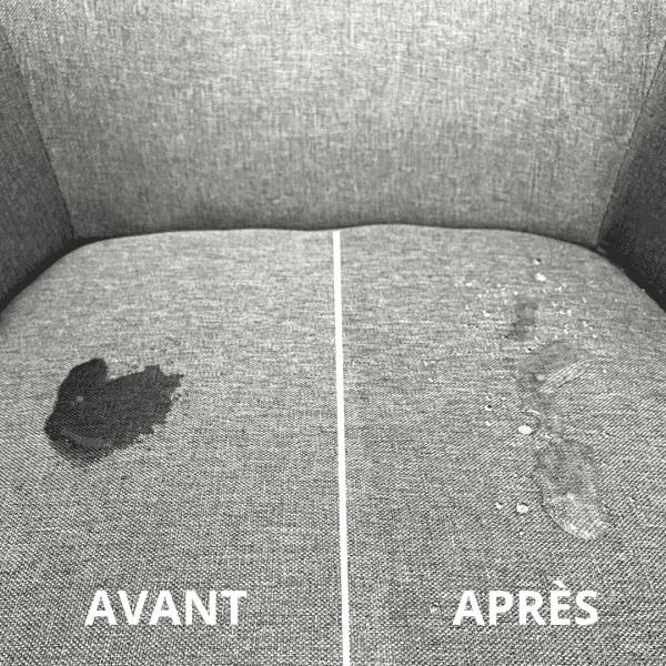 Photo Chaise Avant Après Imperméabilisation Textile Antitache
